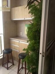 Apartamento No Varandas ,Calhau ,3 Quartos ,Moveis Projetado