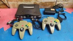Nintendo 64 completo funcionando perfeitamente