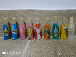 Mini garrafas da Coca-Cola