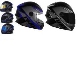 Capacetes Para Moto Protork R8 (Novo Passo Cartão)