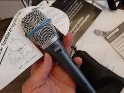 Microfone Original Shure Profissional Beta 87a