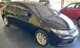 Honda Civic  LXS 1.8 vtec (Aut) (Flex) 2016 b/de couro s/detalhe novo