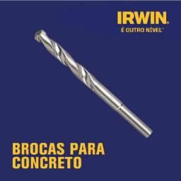 10 Brocas Irwin 6 mm widea para concreto