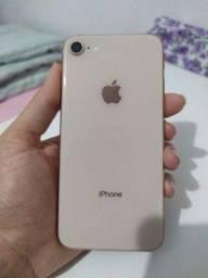 Iphone 8 64gb sem detalhes 82% bateria 10x180