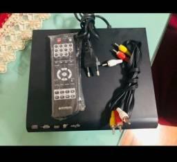 Dvd Player na caixa
