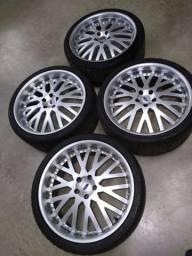Rodas 22 com pneus