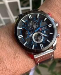 Relógio curren todo funcional, pouquíssimas unidades.