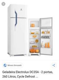 Troco geladeira 220 por uma 110