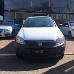 Fiat Strada HD Working 1.4 Fire Flex, CS,  2017/2018, completa, som, Lona Marítima