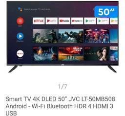Tv 50 4k com 4 anos de garantia