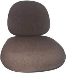 Conjunto Assento Encosto Cadeira Executiva Fixa E Giratória