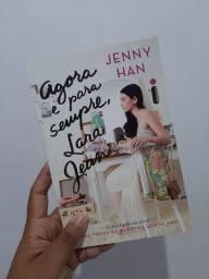 Livro Agora e para sempre, Lara Jean