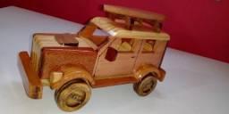 Carrinho de madeira, Artesanato