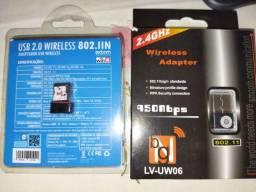 Adaptadores Wi Fi 2,4 ghz Promoção 30 reais