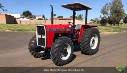 Trator Massey Ferguson 265 4x4 ano 98