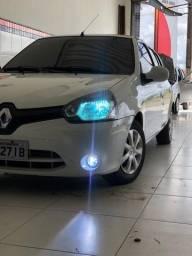 Clio Xenon 8K Farol + Led Prime 9000 Lumens Milha