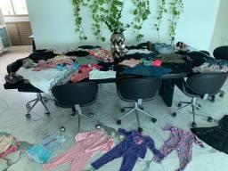 Sacola de roupas usadas criança menina de 2 á 6 anos, adulto homem e mulher.