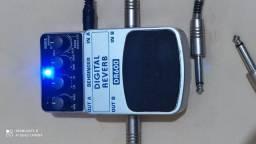 Pedaleira para Guitarra, Behringer Reverb DR600