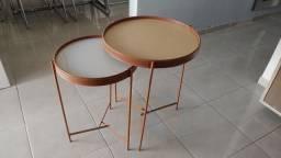 Mesa dupla de canto