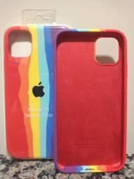 Capinhas de silicone para iPhone 11