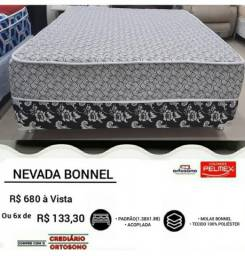 "**Cama ""Nevada Bonnel"". Entrega grátis**"