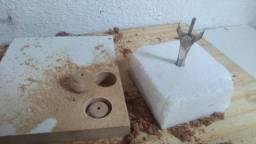 Fresa para fazer puxadores de madeiras