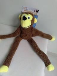 Macaco de pelúcia pet