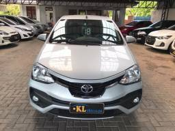 Toyota- Etios Sedan Platinum 1.5 Flex Automático (Único Dono, Seminovo)