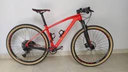 "Bike Caloi Elite Carbon Sport 2020 - Quadro 17"""