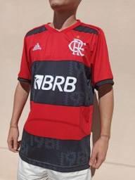 Lançamento 2021 Camisa de Time do Flamengo Rubro-Negro