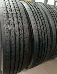 Pneus 275/80 Pirelli Com recape Bandag