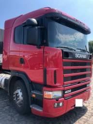 Caminhão scania r 400 6x2 evoluçao com ar ano 2005