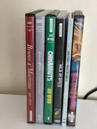 DVDs Musicais Diversos - R$10 cada