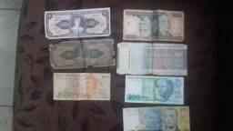 Notas antigas R$ 350,00