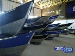 Barcos de Alumínio - 5 e 6 Metros - Novos