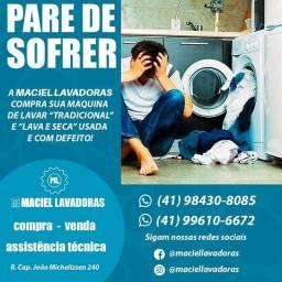 Maquina de lavar (compra, venda e assistência)