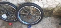 Vendo aro e e pneus seminovos
