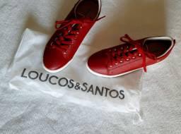 Tênis Novo Loucos & Santos