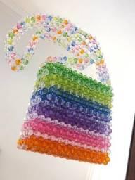 Beaded bag colorida