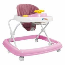 Andador Infantil Musical Com Regulagem Styll Baby 6 Rodas