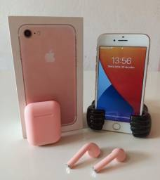 IPHONE 7 ROSE GOLD 32GB<br><br>GRÁTIS FONE INPODS 12