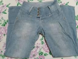 Título do anúncio: Calça Jeans com Elastano - Tamanho 44