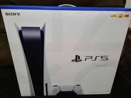 PS5 PLAYSTATION 5 Novo Lacrado versão com disco. Nota fiscal 1 ano de garantia