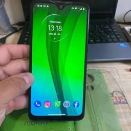 Vendo Moto G7 Plus 64Gb 4 Ram ,Sem Detalhes