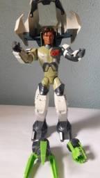 Boneco Max Steel N-tek Adventures - Max Armadura De Batalha - Usado em bom estado