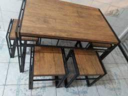 Mesa de madeira MDF