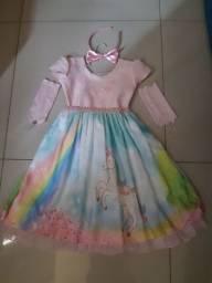 Lindíssimo vestido de unicórnio n 8