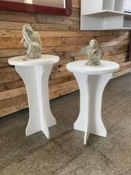 2 mesas decorativa