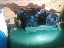 Compressor chaperin 15 pés industrial 200 litros 2600.00