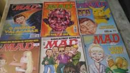 Promoção revistas MAD